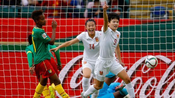 Fotos - Copa Mundial Femenina de la FIFA Canada 2015, Copa Mundial Femenina de la FIFA, Copa Mundial Femenina Canadá 2015, Canadá, Selección Camerún Femenina, Selección China Femenina, AFC, CAF, Asia, África, Noticias - Copa Mundial Femenina de la FIFA Ca