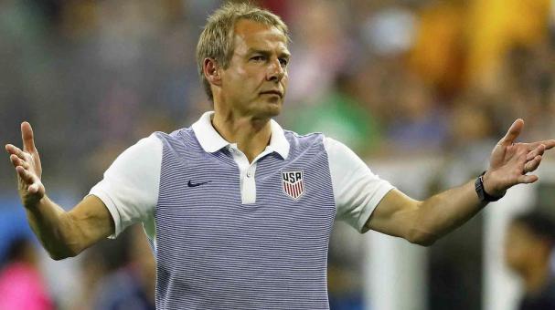 El entrenador de EEUU, Jurgen Klinsmann. Foto: EFE