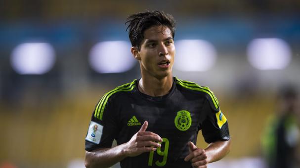 El mexicano Diego Lainez sueña con jugar en Europa