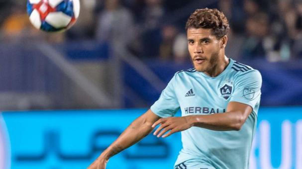 Jonathan dos Santos #8 of Los Angeles Galaxy during the Los Angeles Galaxy's MLS match against Houston Dynamo at the Dignity Health Sports Park on April 19, 2019 in Carson, California. Los Angeles Galaxy won the match 2-1 (Getty Images)