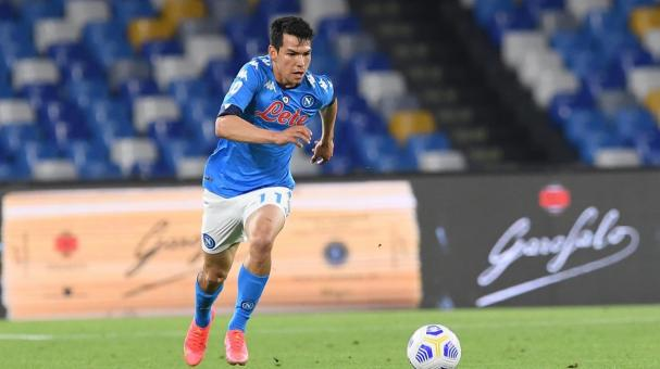 Hirving Lozano suma ya 11 goles en lo que va de la Serie A (FOTO: Napoli)