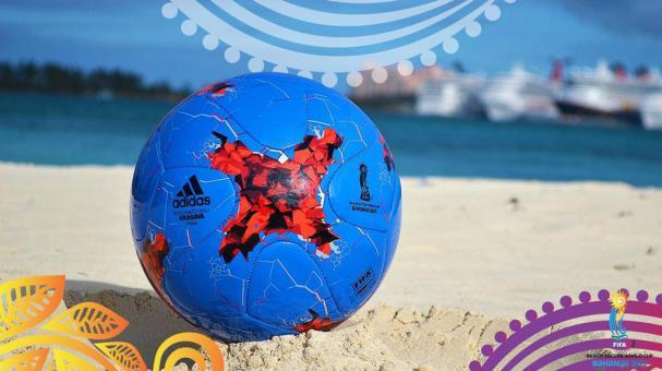 Adidas Paria: Balón Oficial de la Copa Mundial de Beach Soccer de la FIFA Bahamas 2017
