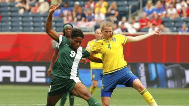 Las hostilidades del sector D de la Copa Mundial Femenina Canadá 2015 comenzaron con el duelo entre Suecia y Nigeria. Foto: GettyImages