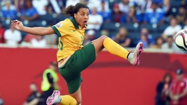 Las australianas lograron su primera victoria en Canadá 2015, tras vencer 2-0 a Nigeria, que se hunde en el Grupo D de la Copa del Mundo. Foto: Getty Images