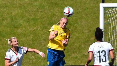 Alemania derrotó 4-1 a Suecia, en actividad de la Copa Mundial Femenina de la Fifa Canadá 2015. Foto: GettyImages