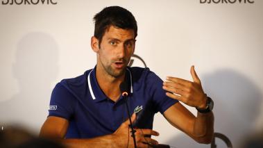 Se complica el regreso de Novak Djokovic para el 2018