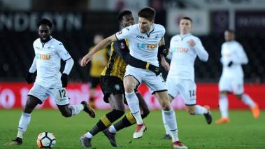 Swansea avanza a cuartos de FA Cup por primera vez en 54 años