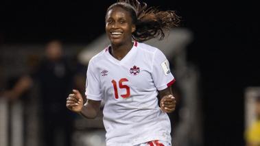 Canadá Selección Femenil, festejo de gol. Mexsport