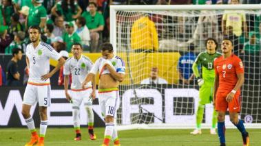 La humillación que sufrió México a manos de Chile en la Copa América Bicentenario. Foto: Imago7