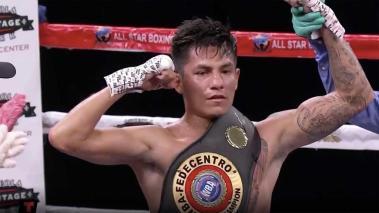 Dennis Martillo Contreras, en Boxeo Telemundo