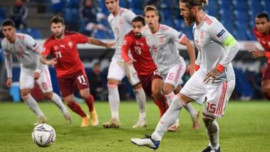 Sergio Ramos falló dos penales y puso en apuros a España. (Foto: AFP