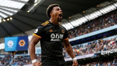 Adama Traoré todavía no consigue goles en la Premier League esta temporada 2020-2021. Foto: AFP