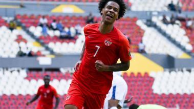 Tajon Buchanan fue la figura del partido con dos anotaciones; Canadá mostró buenas cosas ante El Salvador. Foto: Imago7