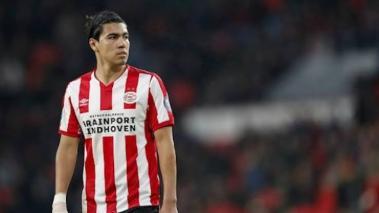 Erick Gutiérrez ha quedado fuera toda la temporada con el PSV (FOTO: PSV)