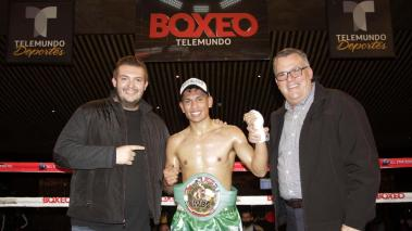 Jair Kaiser Valtierra, en Boxeo Telemundo