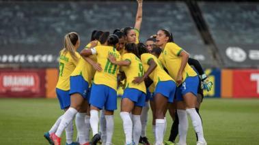 Selección femenina de fútbol de Brasil - Cortesía: @CBF_Futebol