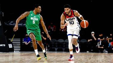 Estados Unidos y sus estrellas NBA caen ante Nigeria