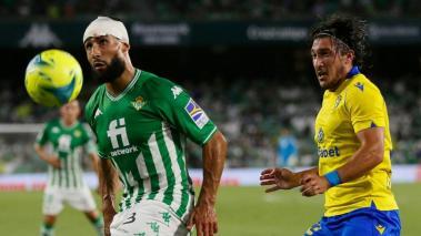 Betis y Cadiz igualaron en La Liga de España. Foto: EFE
