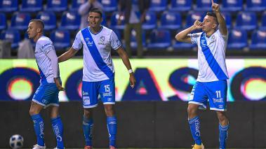 Daniel Álvarez le dio su primera victoria al Puebla. (Foto: Mexsport)