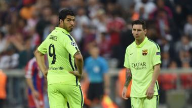 """Suárez: """"Creo que Messi recapacitará y volverá a la selección argentina""""."""
