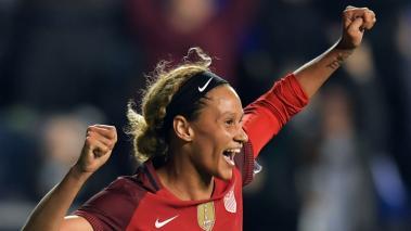 La Selección de Estados Unidos Femenina derrotó a Alemania en partido amistoso