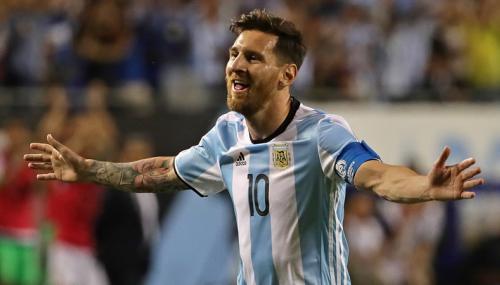Lionel Messi está contento por no cruzarse con Uruguay en Copa América Centenario