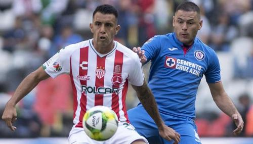 Cruz Azul vs Necaxa. Mexsport