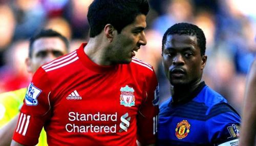 Suárez le dijo negro a Evra en siete ocasiones.
