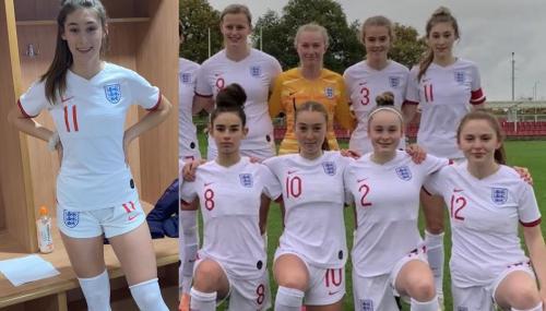 Tatiana Flores ya jugó para México y ahora es capitana en la selección de Inglaterra (FOTO: Twitter)