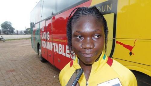 Alexandra Takounda Engolo: Selección Camerún Sub-17 Femenina