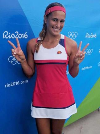 La joven tenista Mónica Puig, número 34 del ranking mundial, contra todos los pronósticos se colocó en los cuartos de final en los Juegos Olímpicos de Río 2016, convirtiéndose en una de las grandes esperanzas del tenis latinoamericano. Foto: Facebook