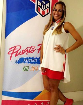 La joven tenista Mónica Puig, número 34 del ranking mundial, contra todos los pronósticos se colocó en los cuartos de final en los Juegos Olímpicos de Río 2016, convirtiéndose en una de las grandes esperanzas del tenis latinoamericano. Foto: Instagram