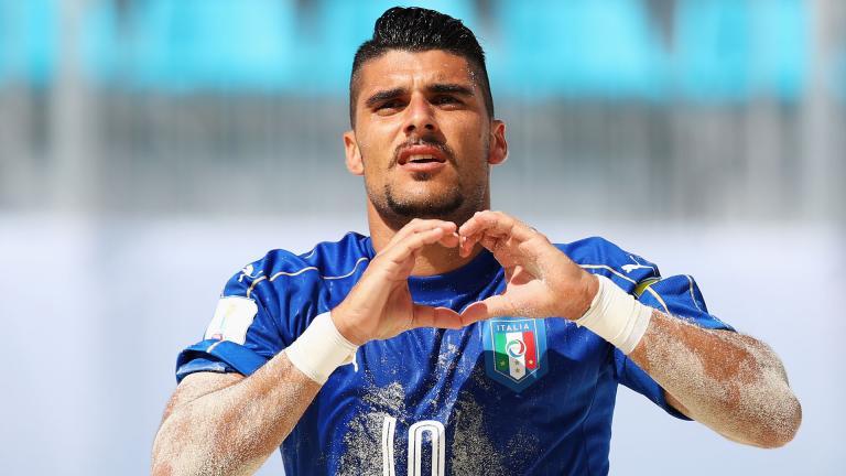 <b>Máximo goleador:</b> El italiano Gabriele Gori ha marcado once tantos en esta primera fase del torneo. <p>Foto: Getty</p>