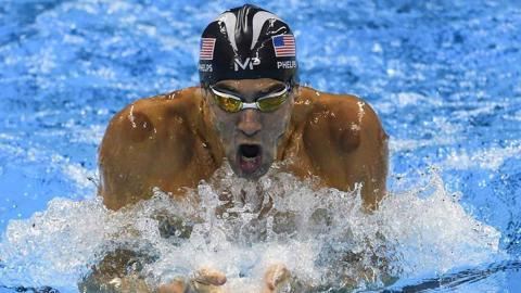 """A este histórico del olimpismo se le apoda el """"Tiburón de Baltimore"""" o la """"Bala de Baltimore""""."""