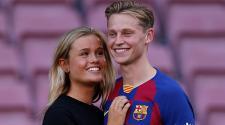 Lo que hizo de Jong para que su novia se sintiera bien en Barcelona