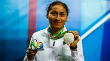 La mexicana María Guadalupe González fue premiada con medalla de plata en Río 2016. (EFE)